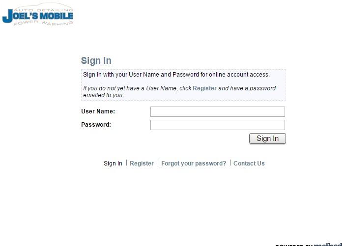 Portal   powered by Method Integration